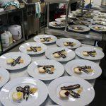 Kitchen and restaurant at Mountain Ridge Wines, near Gerringong, NSW