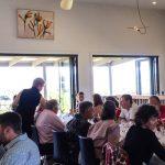 Dining at Mountain Ridge Wines restaurant near Gerringong, NSW